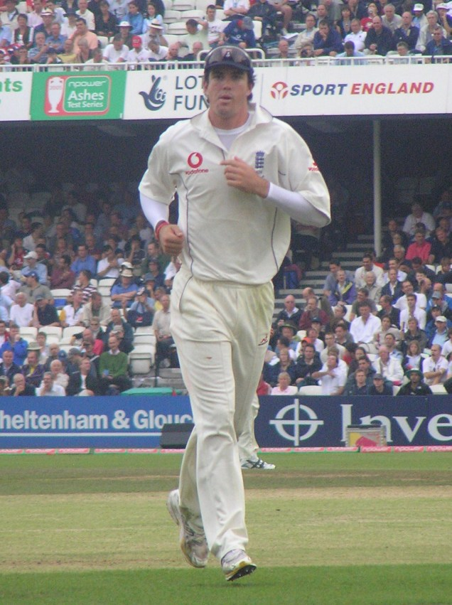 10 years ago - 5th Test - Day 3. You know who, of course....