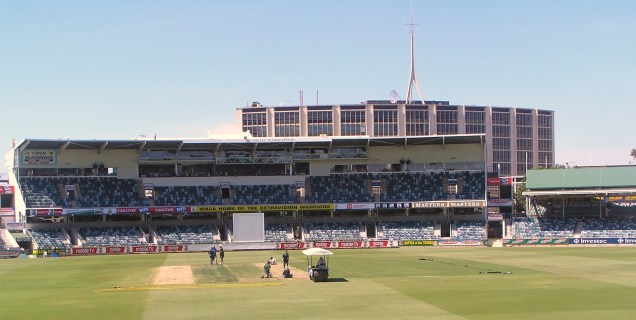 The WACA - pre-game
