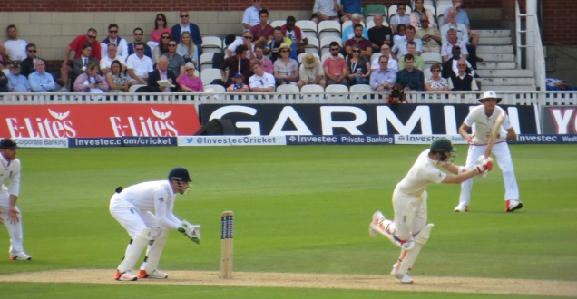The shot that took Steve Smith to 100