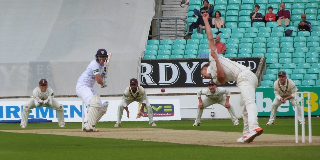 The County Championship.....