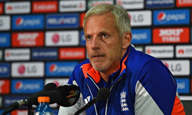 England head coach Peter Moores