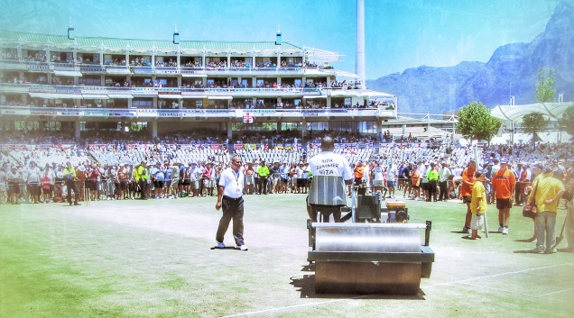 Memories of Newlands - Being Able To Walk On The Outfield (Day 4 I think)