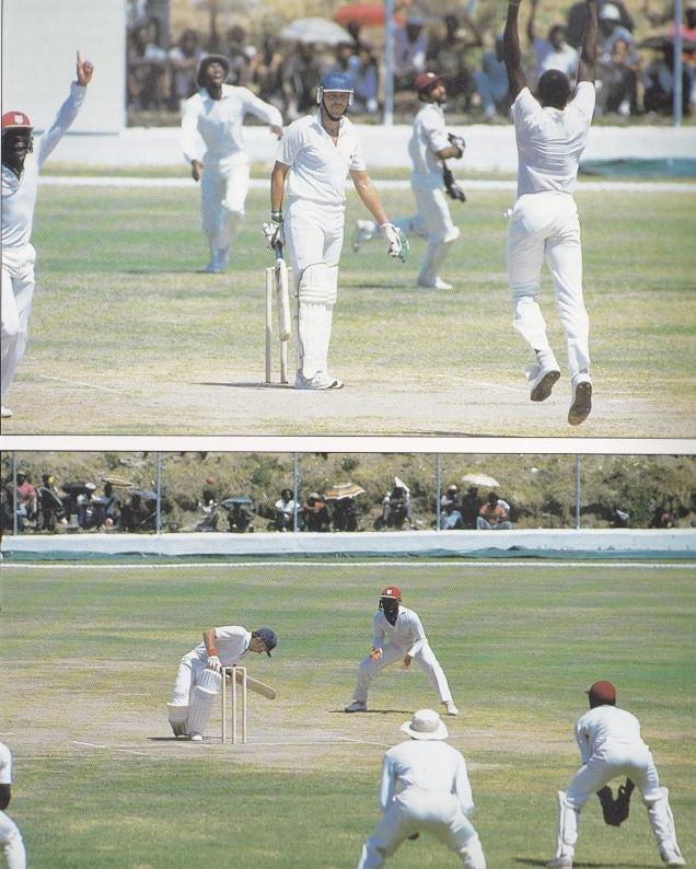 WI v Eng Test 1 1986