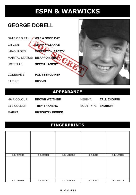 Dobell Spy Dossier